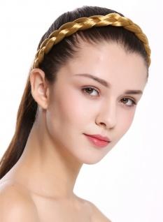 Haarband Haarreif geflochten traditionell breit kupferblond braid CXT-005-126