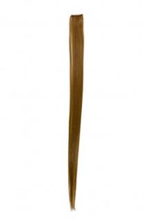 Strähne/ Extension/ Haarverlängerung 1 Clip-In/ Kamm 52cm x 3cm Blond FKJ-1-24