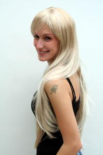 Perücke blond super lang Pony 6311-27T613 - Vorschau 2