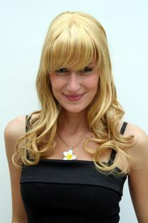 Perücke blond gewellt 6372-149-27C