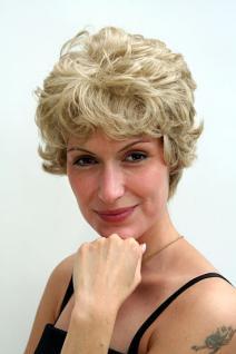 Perücke blond Retro-Kurzhaarschnitt 6422-613L/18