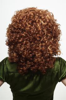 Damenperücke Perücke Lockenpracht lockig voluminös Rot Blond Mischung 350/144 - Vorschau 4
