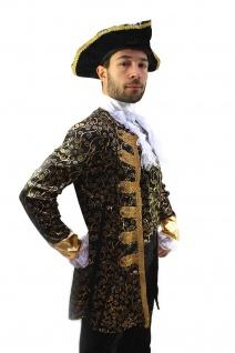 Kostüm EDELMANN Pirat Nobleman Kapitän BAROCK Karibik Mittelalter Herren K1