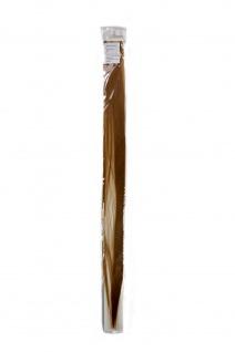 Strähne/ Extension/ Haarverlängerung 1 Clip-In/ Kamm 52cm x 3cm Blond FKJ-1-22