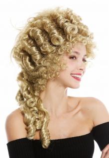 Perücke Damen Karneval Barock Turmfrisur Beehive Pompadour Blond 91029-ZA68E