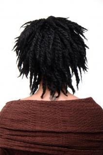 WIG ME UP Damenperücke Perücke Karibik Afro Schwarz Afrolocks Dreadlocks GFW1837 - Vorschau 4