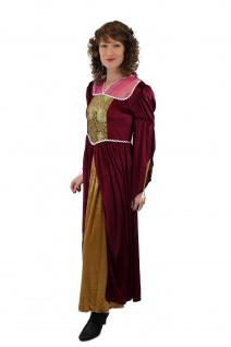 Aufwändiges Kostüm Damenkostüm Mittelalter Edelfrau Gothic Cosplay Märchen L003 - Vorschau 5