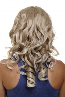 Clip-in Haarteil mit 7 Klammern 3/4 Perücke Blond-Mix ca. 50 cm H9503-15BT613