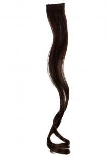 1 CLIP Extension Strähne wellig Braun YZF-P1C18-6 45cm Haarverlängerung