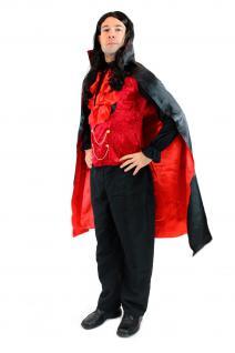 DRESS ME UP - Kostüm Herren Dracula Vampir Dunkler Graf Barock Mittelalter L061 - Vorschau 4