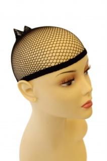 Haarnetz Unterziehhaube Perücken schwarz Haube Perückennetz Wig Cap HNS - Vorschau 1
