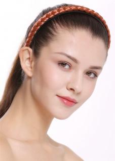 Haarband Haarreif geflochten Tracht traditionell kupferrot braid CXT-003-367