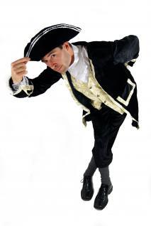Kostüm Edelmann Pirat Kapitän Barock Herren Feudalherr Gutsherr Hof Adel K31 NEU