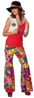 Rubies: Hippie Girl Kostüm 2tlg. Modell 1/3531 60er 70er Flower Power Schlaghose