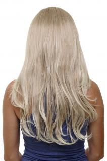 Clip-in Haarteil mit 7 Klammern 3/4 Perücke Blond-Mix ca. 60cm H9505-15BT613