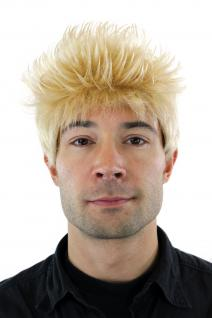 Perücke, Wig, kurzhaarig, hellblond, stehende Haare, Länge: ca. 25cm, GFW386-24A
