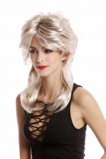 Perücke Damen Karneval 80er Jahre Vokuhila Filmstar Diva blond toupiert wellig