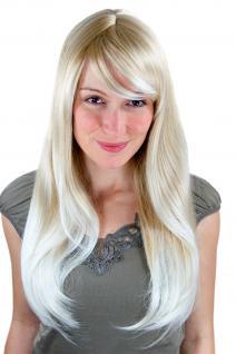 Sexy Perücke, blond mit hellblond versetzt, glatt, Seitenscheitel 3115-24BT613