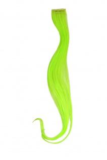 1 Clip Extension Strähne Haarverlängerung wellig Hellgrün 45cm YZF-P1C18-TF2606