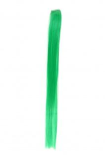 1 Clip Extension Strähne Haarverlängerung glatt Grün 45cm YZF-P1S18-T1857