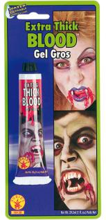 Rubies: Extra dickes Blut Modell R7/18138 Blood Kosmetik Horror-Outfit Halloween