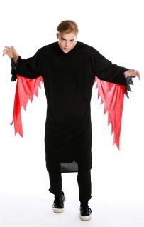 Kostüm Herren Damen Unisex Halloween Geist Gespenst Serienkiller Gr M/L M-0001 - Vorschau 5
