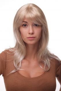 Perücke: nordischer Traum in Blond lang Scheitel Mädchen Frau 50cm 4038-27T613
