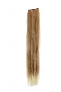 2 CLIP Extension Strähne glatt Blond-Mix YZF-P2S18-27T613 45cm Haarverlängerung