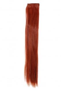 2 Clips Extension Strähne glatt Tizian-Rot YZF-P2S18-350 45cm Haarverlängerung