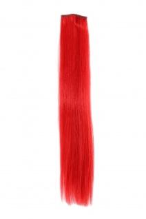 2 Clips Extension Strähne glatt Rot YZF-P2S18-113 45cm Haarverlängerung