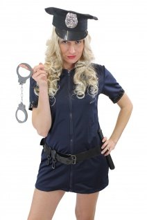 Komplettset: Kostüm Damenkostüm Sexy Politesse Polizistin Female Cop Police L006 - Vorschau 1