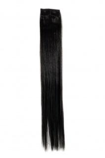 2 CLIP Extension Strähne Haarverlängerung Braun glatt 45cm YZF-P2S18-4/12