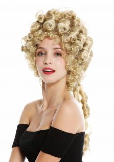 Perücke Damen Karneval Barock Turmfrisur Beehive Pompadour Blond 91029-ZA68E - Vorschau 3