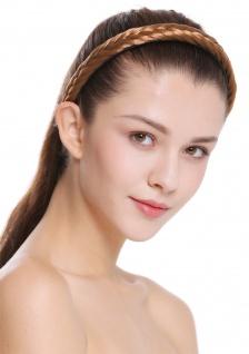Haarband Haarreif geflochten Tracht traditionell rotblond braid CXT-001-341