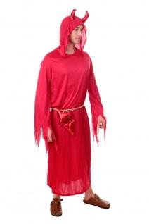 DRESS ME UP Kostüm Karnevalskostüm Herren Frauen Teufel Dämon Luzifer Satan L203