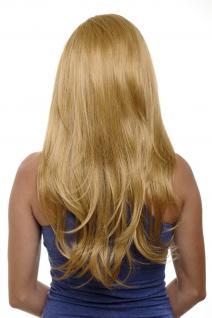 Clip-in Haarteil mit 7 Klammern 3/4 Perücke Blond Goldblondes Haar H9505-24B NEU