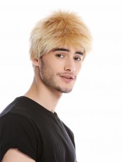Perücke Herrenperücke Männer kurz Bürstenschnitt Blond WL-3045-24B Perrücke