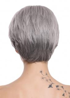 WIG ME UP Damenperücke Perücke Damen edel ältere kurz glatt Schwarz Grau Mix - Vorschau 3