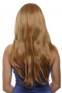 Clip-in Haarteil mit 7 Klammern 3/4 Perücke Blond Erdbeerblond ca. 60cm H9505-27