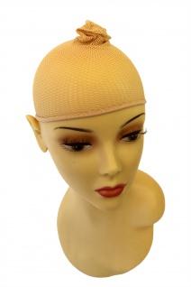 Haarnetz Unterziehhaube Perücken blond Wig Cap Haube Perückenkappe HNB