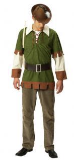Rubies: Robin Hood Kostüm, 2tlg. Modell 1/4421 Rächer Dieb Räuber Herrenkostüm
