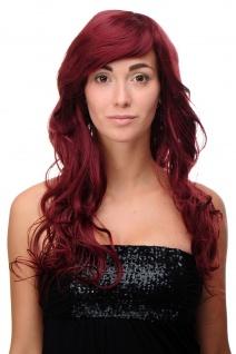 Lange Perücke Rote/Granatrote Haare gewellt bis leicht lockig ca.70 cm 9669EL-39