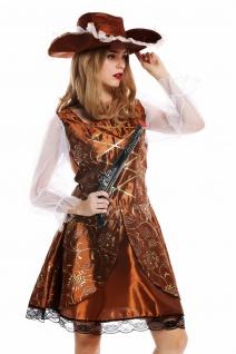 Kostüm Damen Frauen Karneval Halloween Barock Piratin Seeräuberin Gr M/L W-0042