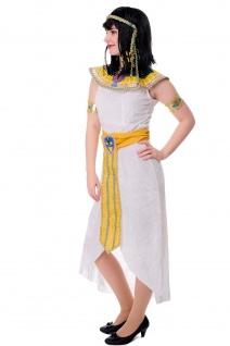 DRESS ME UP - Kostüm Damen Kleopatra Cleopatra Pharaonin Ägypten Mummy Gr. S/M - Vorschau 2