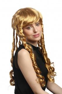 Perücke Damen Karneval Fasching Blond kurz Spirallocken Rastalocken 3063 - Vorschau 2
