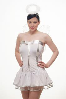 Kostümset Damenkostüm Kleid : Sexy Engel Angel Engelchen Unschuld Ballerina L018 - Vorschau 5