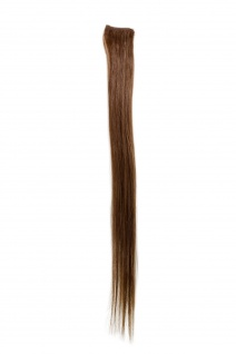 1 CLIP Extension Strähne glatt Hell-Braun YZF-P1S18-10 45cm Haarverlängerung