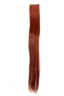 2 Clips Extension Strähne glatt Rost-Rot YZF-P2S25-130 65cm Haarverlängerung