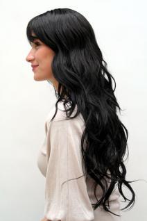 Perücke schwarz langes Haar 9317-1B - Vorschau 3