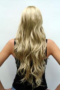 Perücke blond langes Haar 9317-234 - Vorschau 4